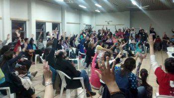 Los docentes acordaron las medidas de un congreso provincial.