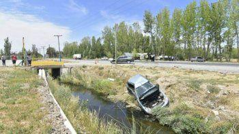 Dos muertos y tres heridos en un accidente sobre Ruta 22 en Roca