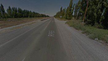 Un joven de 32 años recibió un balazo en la pierna cuando circulaba en moto por Ruta 65