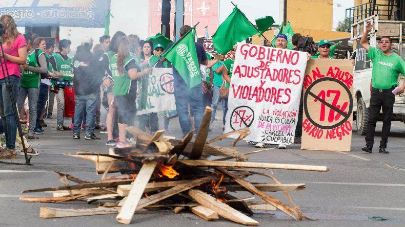 ATE protestará en los puentes contra la reforma laboral