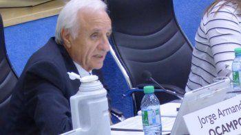 Jorge Ocampos aseguró que seguirá apoyando a la alianza Cambiemos.