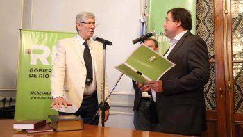 Asumió Diomedi como nuevo ministro de Agricultura