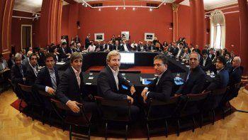 provincia discutio en buenos aires por la coparticipacion federal