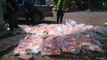 Secuestraron 300 kilos de valiosa carne pampeana