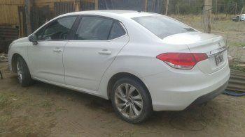 Recuperaron en la Isla un auto robado en el Don Bosco