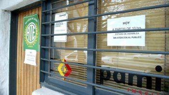 El PAMI local enfrenta diversos reclamos, de los afiliados y de gremios.