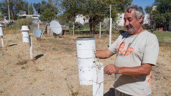 Rodolfo Merlino invitó a los vecinos a observar el eclipse desde la sede de la Estación Meteorológica Cipolletti.