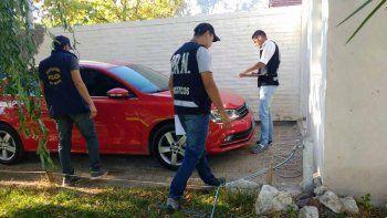 La semana pasada, la Brigada secuestró un auto en el 12 de Septiembre.