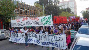 Miles cipoleñas marcharon y le gritaron basta a la violencia machista