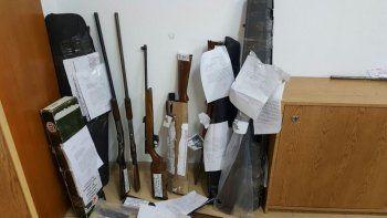 Entregaron más de 150 armas de fuego secuestradas