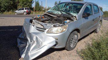 Los vehículos involucrados en el siniestro terminaron con muchos daños.