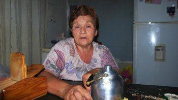 Clara Colipe viuda de Benjamín Moyano sigue exigiendo justicia por el asesinato de su esposo.