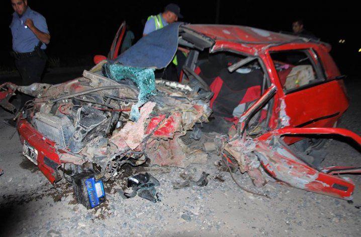 Madrugada trágica en la Ruta 65,. un hombre murió en un accidente de tránsito