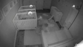 bebes organizaron una fiesta mientras sus padres dormian