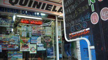 La agencia de quiniela Cuarenta fue escenario de reiterados robos.