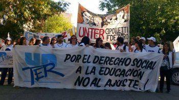 El gremio de los maestros rionegrinos se reunirá hoy con las autoridades del Ministerio de Educación, con el objetivo de acercarse a un acuerdo salarial.