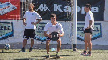 Mellado y Del Prete, titulares en el equipo de Homann que se juega una parada crucial mañana como local.