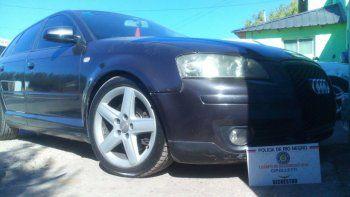 El Audi A3 sería un auto mellizo y tendría un pedido de secuestro.