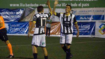Opazo es el goleador de Cipo en el 2017: dos por Copa y uno en el Federal A.