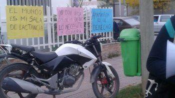 La última semana hubo protestas en el hospital de Fernández Oro.