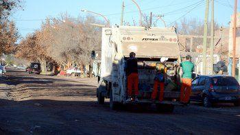 El martes no pasará el camión recolector de basura