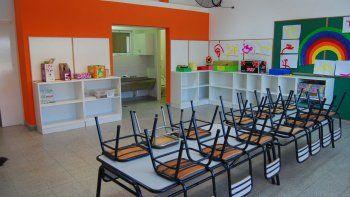 Educación acondicionó aulas en un secundario y el sindicato de la fruta.