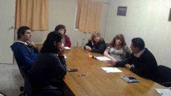 La UTA mantuvo una reunión informal con cinco concejales.