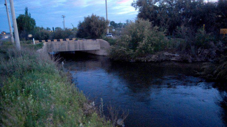 El canal P2 es fundamental para desagotar la ciudad de precipitaciones.
