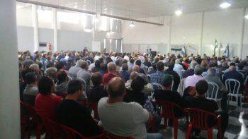 Más de 600 productores participaron de la primera asamblea general de la nueva conducción de la Federación.