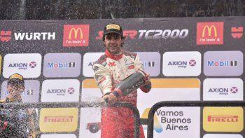 Manu viene de ganar en el debut con Citroën en Buenos Aires.