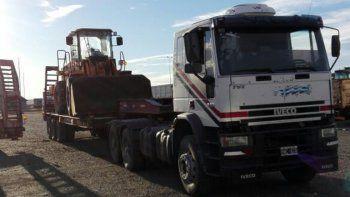 vialidad destinara 28 maquinas de lazaro baez a obras en rio negro