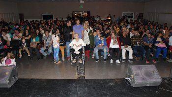 El evento a beneficio se llevó a cabo en el Centro Cultural Municipal.