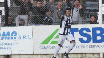 Opazo sigue de racha y con su gol de ayer suma 5 en el año para Cipo. Expulsado, el domingo no estará en Sunchales.