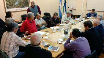 Diomedi presentó el plan ante autoridades del gobierno nacional.