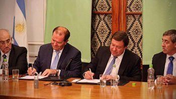 el banco patagonia sera el agente financiero por 10 anos mas