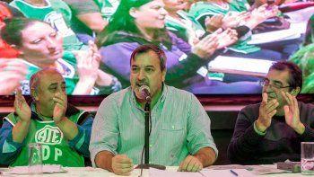 Aguiar criticó el acuerdo entre el Ejecutivo y el gremio UPCN.
