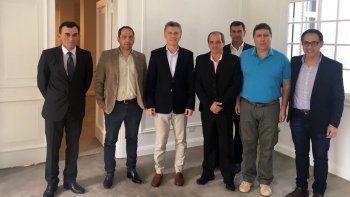 Macri recibió a los productores del Alto Valle en Olivos y prometió soluciones de fondo