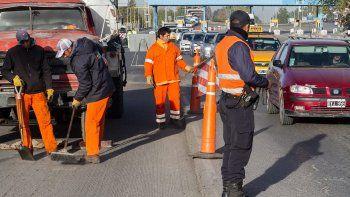Los trabajos en los puentes generaron caos vehicular la semana pasada.