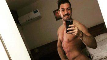 Bruno Micheli se desnudó y revolucionó Instagram