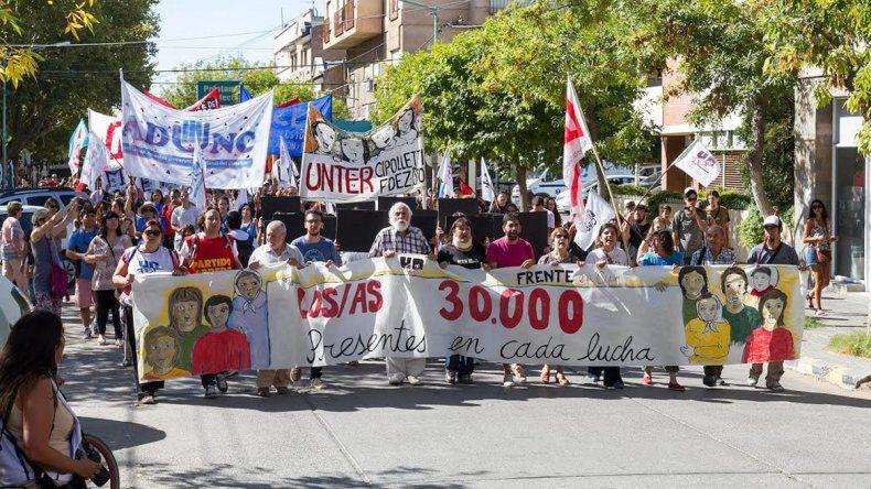 El pasado 24 de marzo los cipoleños repudiaron el golpe de 1976.