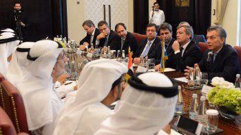 Macri y Weretilneck se reunieron con políticos y empresarios árabes