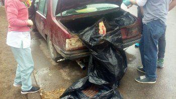 Policía del barrio La Paz decomisó ayer 370 kilos de carne ilegal