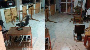 entraron a su casa, le golpearon la cara con un ladrillo y lo arrastraron por la calle