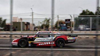 El semipermanente de San Luis complicó a los pilotos por el polvo en la pista, que estrecha el margen.