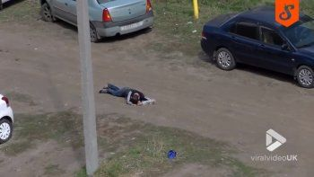 Un borracho buscaba al amor de su vida y lo detuvieron