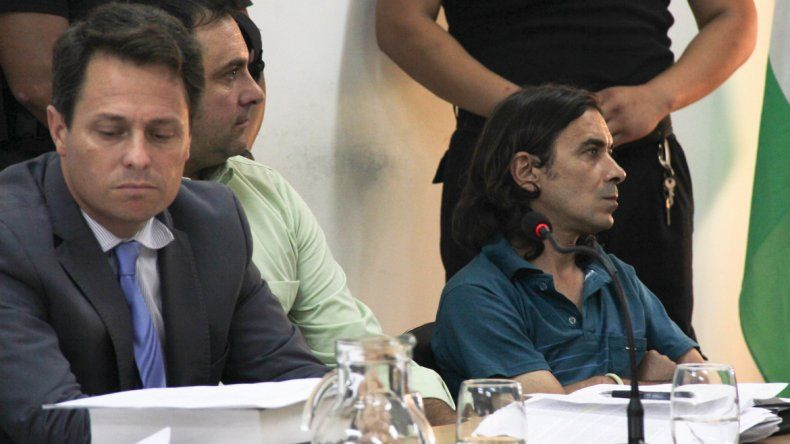 José Chiqui Forno (derecha).