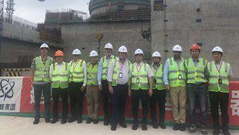 Weretilneck visitó ayer en China un proyecto similar al rionegrino.