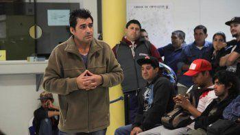 Omar Meza dijo que su gremio está en estado de alerta permanente.