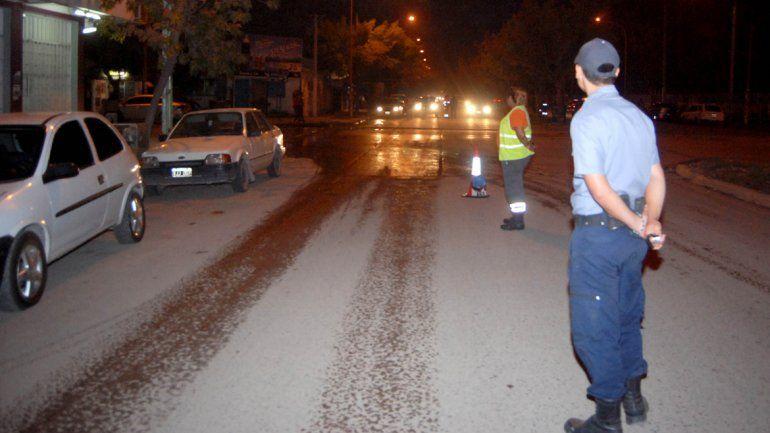 Los controles preventivos del área Tránsito y la Policía se reiteran durante los fines de semana y evitan posibles accidentes con borrachos al volante.
