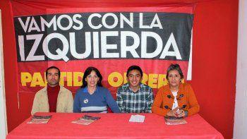 El Partido Obrero presentó los candidatos para las PASO